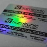 Etiquetas holográficas