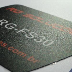 Etiqueta de policarbonato